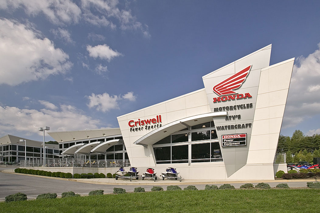Criswell Honda Motorcycles Powersports Flanagan Architects